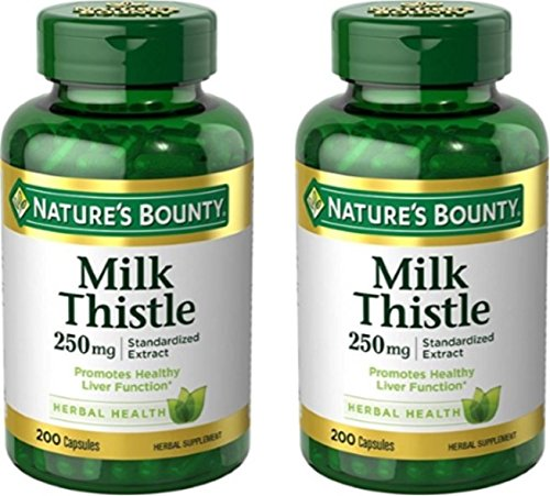 Nature's Bounty Milk Thistle 250 mg, 400 Capsules Total