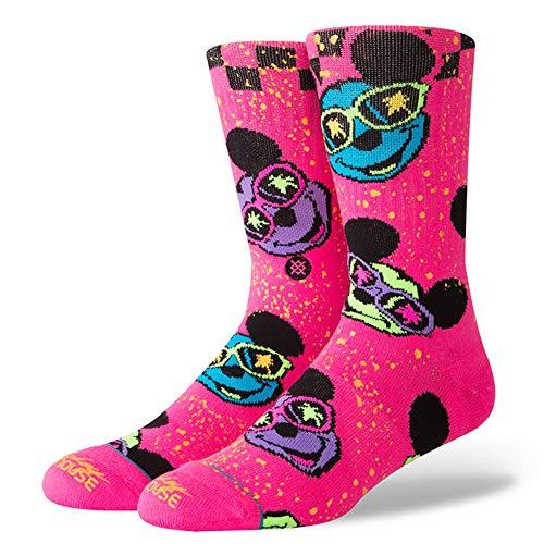 Stance M556D18SUR Men's Surprise Party Socks, Pink - Large -