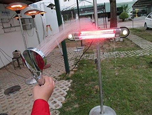 AZ Patio Heaters Electric Patio Heater Parasol Lawn amp Patio