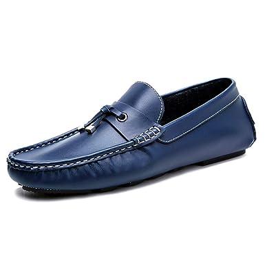 Pisos Para Hombre De Cuero Slip On Borla Mocasines Vestido Elegante De La Oficina Zapatos Formales Mocasín Zapatos Formales: Amazon.es: Ropa y accesorios