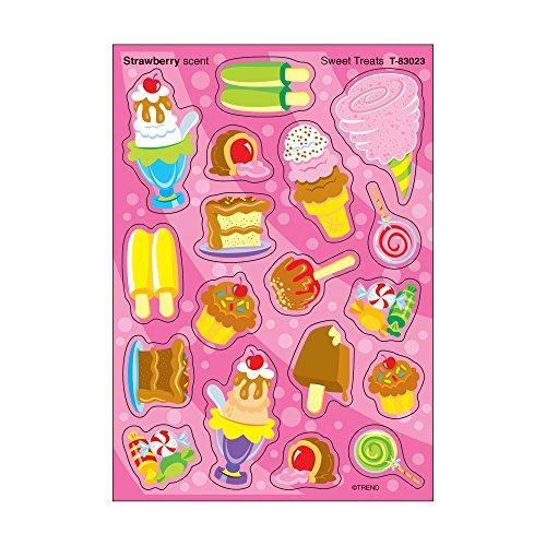 Trend Two Piece (Trend Enterprises Sweet Treats/Strawberry Stinky Stickers (72 Piece))