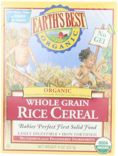 Cereal Bio meilleur riz entier de la Terre, 8 once Box (Boîte de 12)