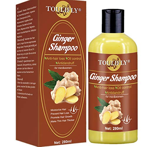 Hair Growth Shampoo,Anti Hair Loss Shampoo,Hair Regrowth Shampoo,Ginger Shampoo,Hair Loss Shampoo for Hair Loss Thinning Hair Regrowth Hair Treatment Women and Men