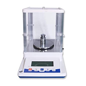 500g x0.001g 1mg Lab Scale Electronic Analytical Precision Experiment Balance Digital 0.001g Scientific Lab Instrument with 200g Weight Calibration Weight Ready to Use US