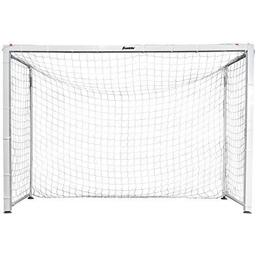 "- Franklin Sports Official Size Aluminum Futsal Goal 9'10"" x 6'7"""