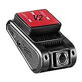 VIOFO A119G with GPS Car Dash Cam Driving Recorder Car Camera DVR V2 Version 2.0' TFT LCD Screen Capacitor Novatek 96660 H.264 2K HD 1440P 1296P 1080P