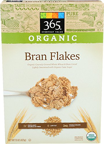 365 Everyday Value, Organic Bran Flakes, 15 Ounce 51O1j6Qb 2BUL