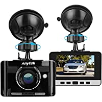 Dash Cam,Full HD 1080P Car DVR Dashboard Camera Recorder with 170 Degree Wide Angle WDR,Loop Recording,Night Vision