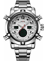 Mens Formal Chronograph Analog-Digital Dial Watch - Wh5205-2C. Weide
