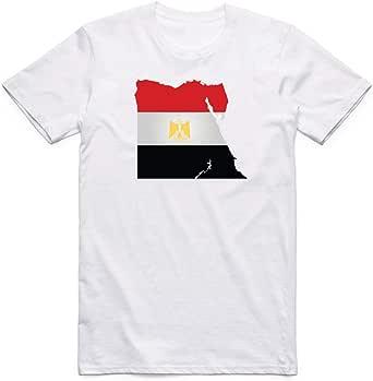 تي شيرت علم مصر للرجال