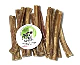 Sancho & Lola's Bully Steer Sticks for Dogs Made in USA 6-inch 72 Count Bulk Size (Approx 2 LBS) Boutique Grain-Free Chews CHEWIER Batch! For Sale