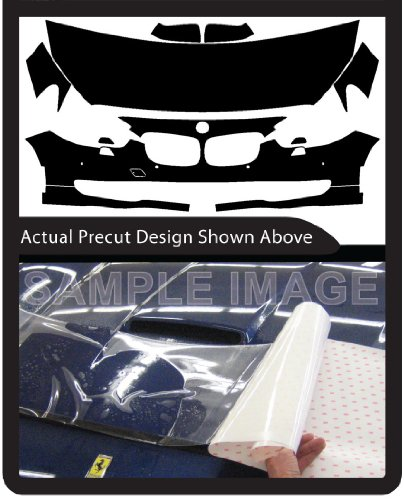 BMW 535 Gran Turismo xDrive (2010-2013) 3M Clear Bra Paint Protection Film Kit