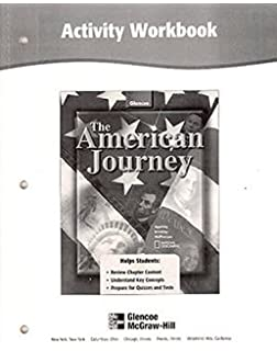 Amazon the american journey reading essentials and study guide the american journey activity workbook student edition fandeluxe Gallery