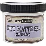 Art Basics Soft Matte Gel, 8.5-Ounce, Transparent