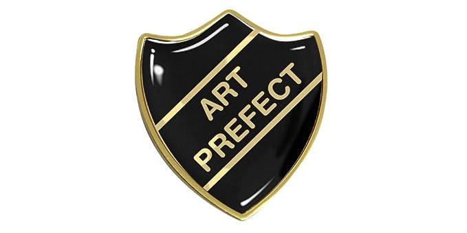 Capricornone Art Prefect Gel Domed School Shield Badge
