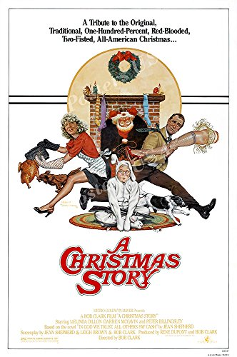 Posters USA – A Christmas Story Original Movie Poster GLOSSY FINISH – FIL702 (24″ x 36″ (61cm x 91.5cm))