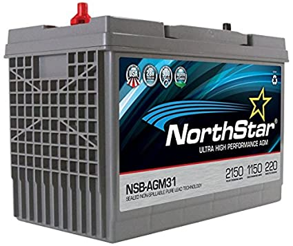 Group 31 Agm Battery >> Amazon Com Northstar Ultra High Performance Group 31 Agm Battery