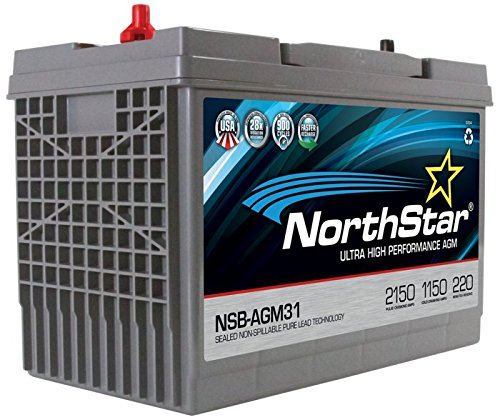 NorthStar Ultra High Performance Group 31 AGM Battery (Best Group 31 Battery)