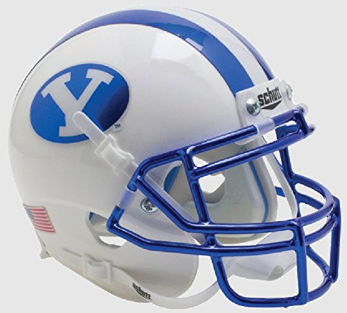 Riddell BRIGHAM YOUNG COUGARS NCAA Schutt MINI Football Helm