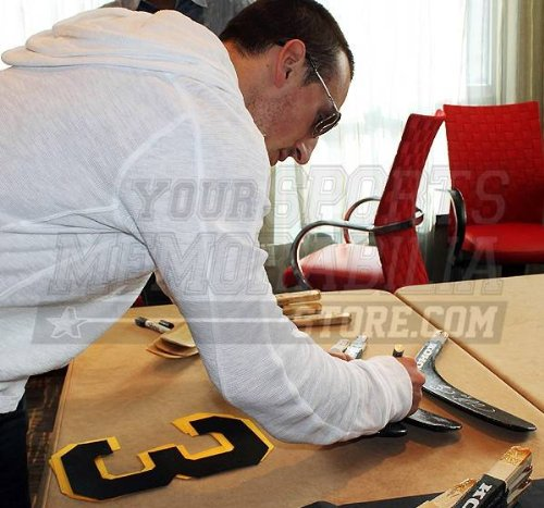 Brad Marchand Boston Bruins Signed Autographed Black Hockey Stick Blade S