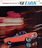 1961 Studebaker '61 Lark Convertible Automobile 2 pgs. Original Print Ad Advertising