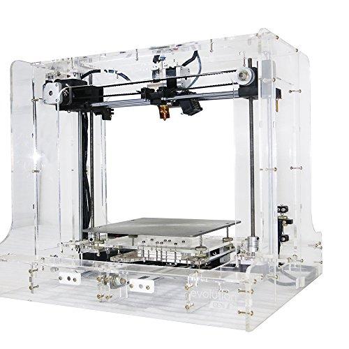 3d Printer Kit 3d Stuffmaker Evolution Transparent Gen