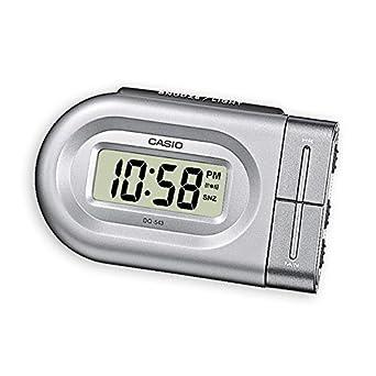 Casio DQ-543-8EF - Alarma con sonido de zumbador, color plata: Amazon.es: Relojes
