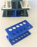 Mini Rack for Microcentrifuge Tubes, Micro Stand, Centrifuge Tube Holder. Fit 1.5 0.5 0.2 ml Tubes & PCR Strip (5)