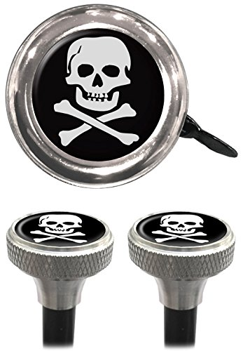 Clean Motion Skull Capperz Valve Stem Caps and Bell by Clean Motion (Image #1)