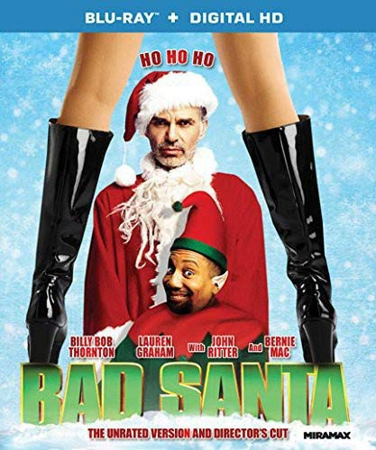 Bad Santa - The Unrated Version and Director's Cut [Blu-ray + Digital HD] (The Best Of Briana Banks)