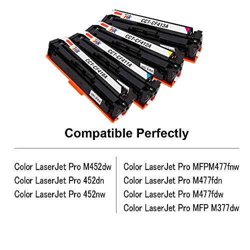 Starink Compatible Toner Cartridge Replacement For Hp 410a Cf410a
