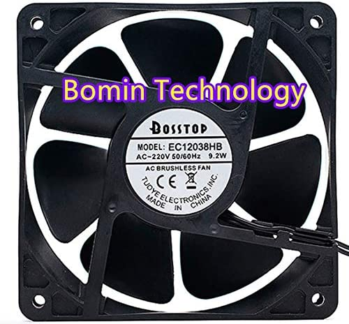 Bomin Technology for Model EC12038HB 220V 9.2W 12CM AC Cabinet axial Cooling Fan