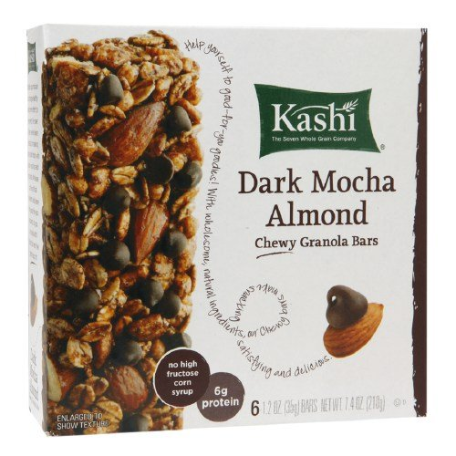 Kashi Chewy Granola Bar, Dark Mocha Almond 6 ea (Pack of ()