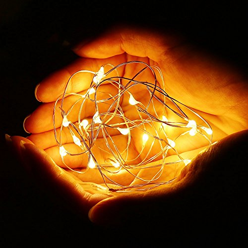 Qedertek 8 PCS 20 LED Starry String Lights, 7.2ft Battery - Import It All