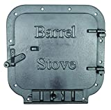 US Stove BSK1000 Barrel Camp Stove Kit, Black