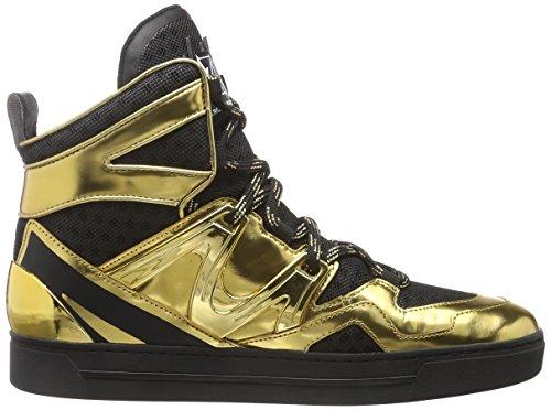 Marc Jacobs Hightop Sneaker Ninja Schwarz/Gold