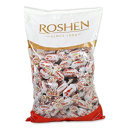 Roshen Gourmet Crawfish Tails Caramel Candy, 2.2 lbs/ 1 kg by Roshen