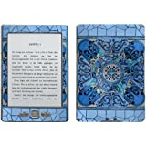 "Motivos Disagu Design Skin para Amazon Kindle 4 eReader: ""Blaues Mosaik"""