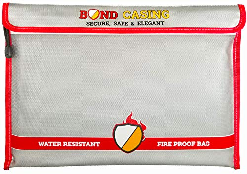 Fireproof Document Bags 15X11