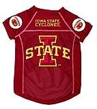 Dog Zone NCAA Pet Football Jersey, Small, Iowa State University, My Pet Supplies