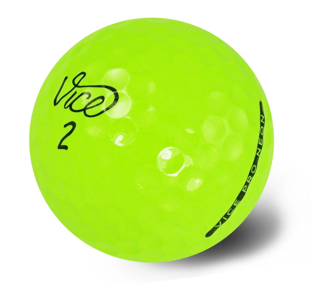 amazon com vice pro golf balls neon green sports u0026 outdoors