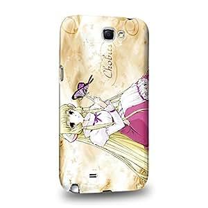 Case88 Premium Designs Chobits Chobits 00 Chi 1466 Carcasa/Funda dura para el Samsung Galaxy Note 2