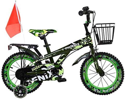 Bicicleta para niños con Estructura de Acero de Alto Carbono, niños y niñas de 2 a