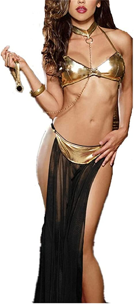NAVARCH Exotic Apparel Lenceria Sexy Mujer, Ropa Erótica Mujer Sexy Lencería De Dormir Sexy Disfraz Traje Disfraz de Criada Vestido Mini Corto Encaje Ropa Erotica Cosplay