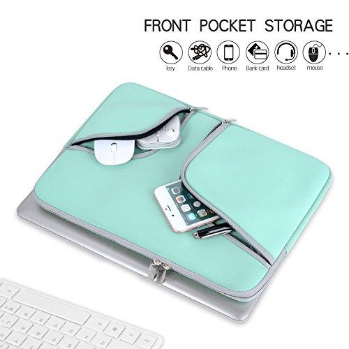 Laptop 11.6 Egiant Water Resistant Case Bag Compatible Air 11|Mac 5 6,Computer Notebook Cases-Turquoise