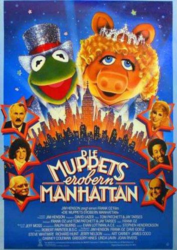 Filmcover Die Muppets erobern Manhattan