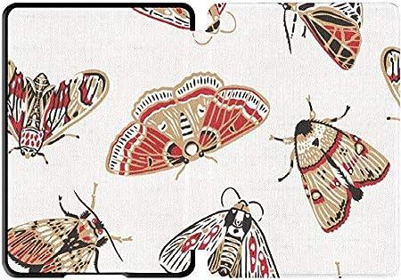 Estuche de 10 Gen Kindle Paperwhite Estuche de Polilla de Dibujos Animados Hermoso y Brillante Estuche de Kindle Paperwhite Impermeable con Despertador automático/Reposo Estuche de Kindle: Amazon.es: Electrónica