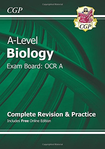 [D0wnl0ad] A-Level Biology: OCR A Year 1 & 2 Complete Revision & Practice with Online Edition R.A.R