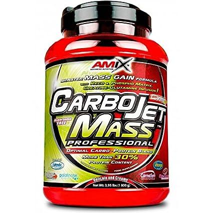 Amix Carbojet Mass Professional 1,8 kg Fresa y Platano: Amazon.es ...