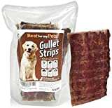 5-Inch Joint Health Beef Jerky Dog Treat Chews (6-Ounce Pack) Beef Gullet Jerky – Naturally Rich in Glucosamine and Chondroitin